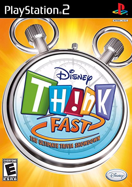 Disney Think Fast: The Ultimate Trivia Showdown (Game Only)