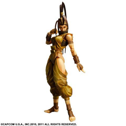 Super Street Fighter IV Play Arts Kai Ibuki Action Figure