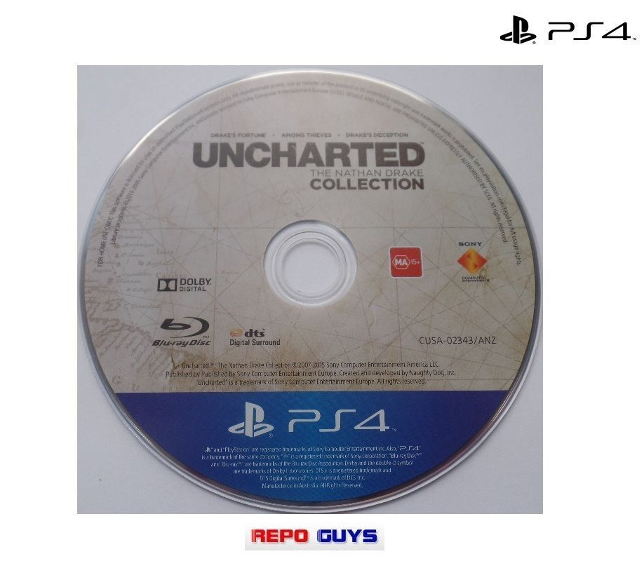 Uncharted: Drake's Fortune Disc Only