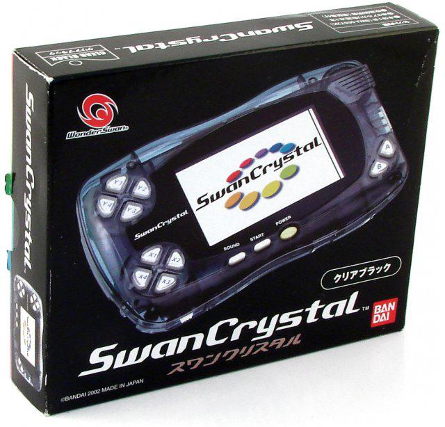 Bandai WonderSwan System Clear Black
