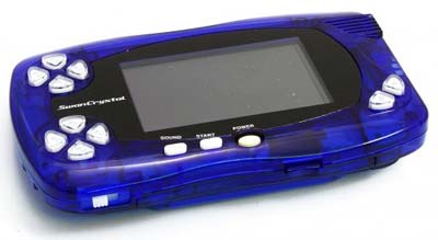 Bandai WonderSwan System Clear Blue