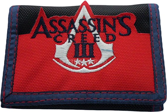 Assassin's Creed Logo Velcro Tri-Fold Wallet