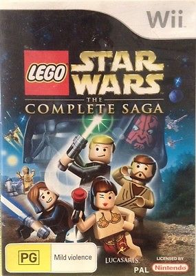 LEGO Star Wars: The Complete Saga (AUS)