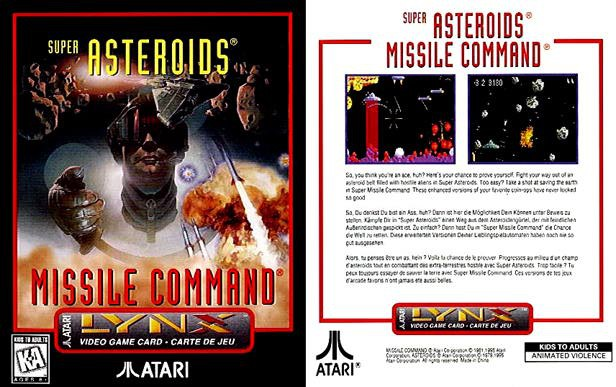 Super Asteroids / Missile Command