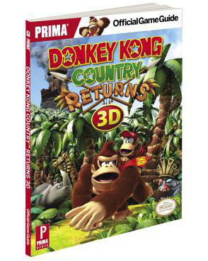 Donkey Kong Country Returns 3D Official Game Guide by Prima