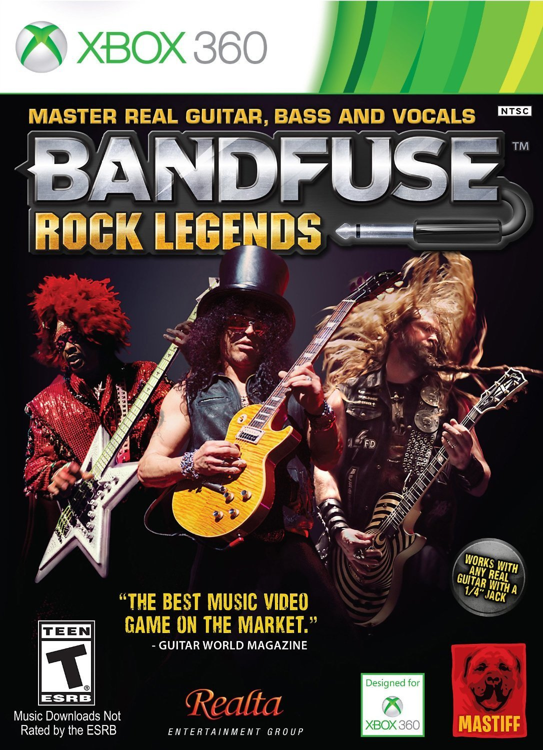 BandFuse: Rock Legends Artist Pack