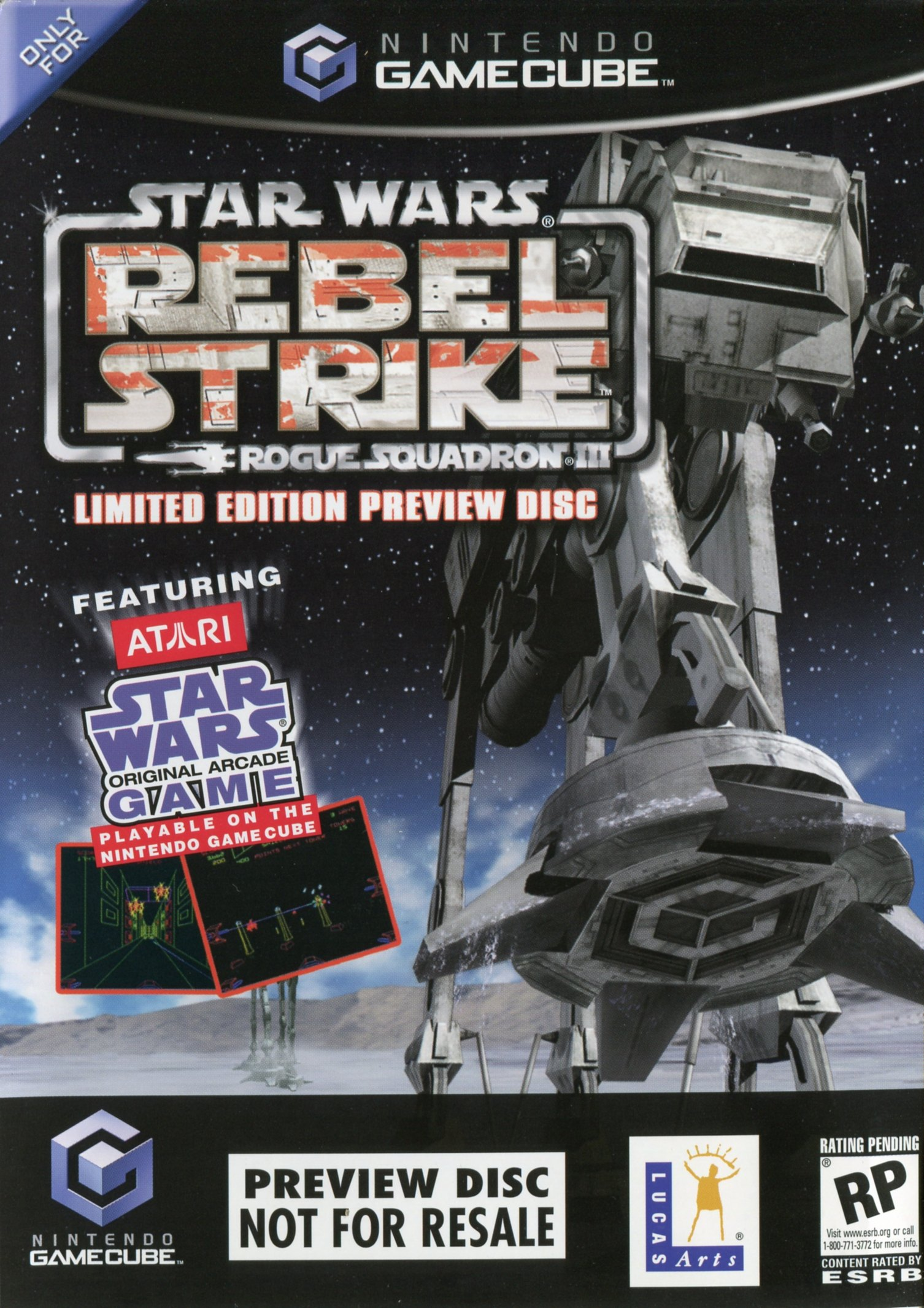 Star Wars Rogue Squadron III: Rebel Strike Preview Disc