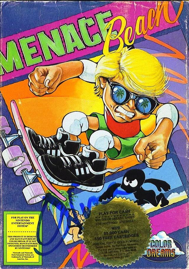 Menace Beach - Black Cart