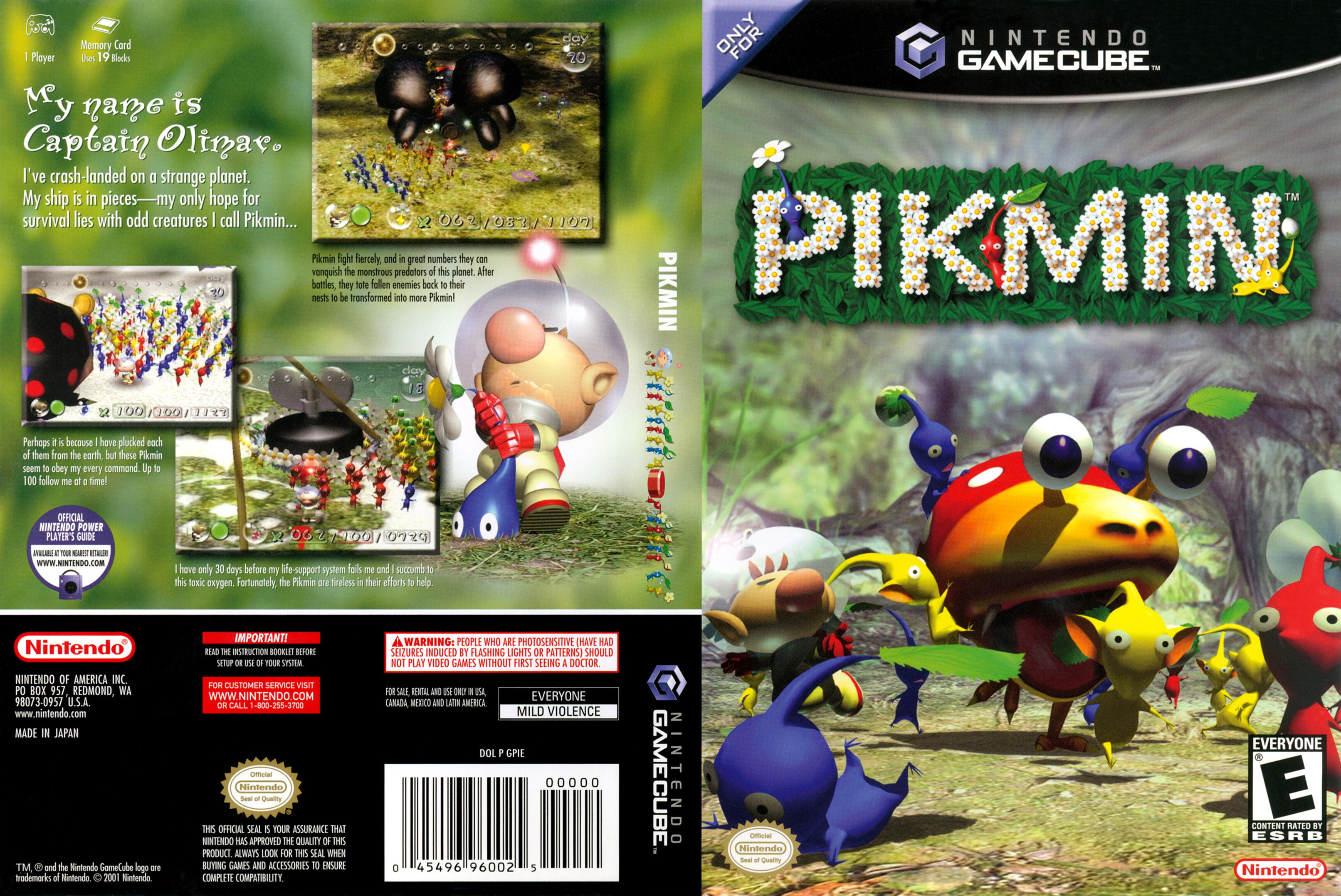 Pikmin Nintendo Power Official Guide