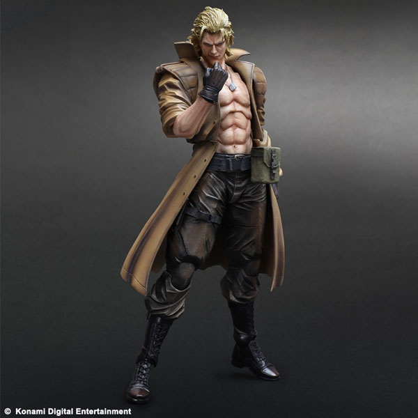 Metal Gear Solid Play Arts Kai Liquid Snake Action Figure