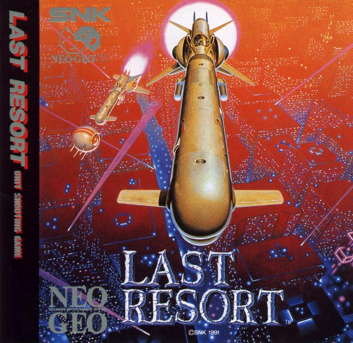 Last Resort Neo Geo CD
