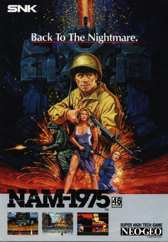 Nam-1975 Neo Geo CD