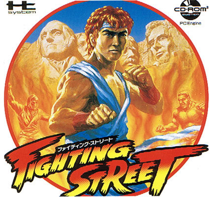 Fighting Street CD-Rom2
