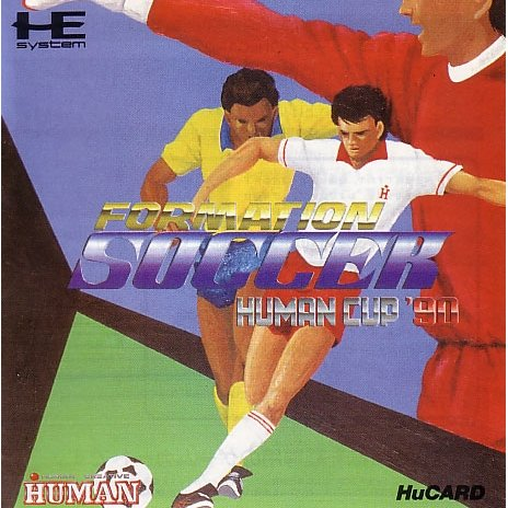Formation Soccer: Human Cup '90 PC Engine