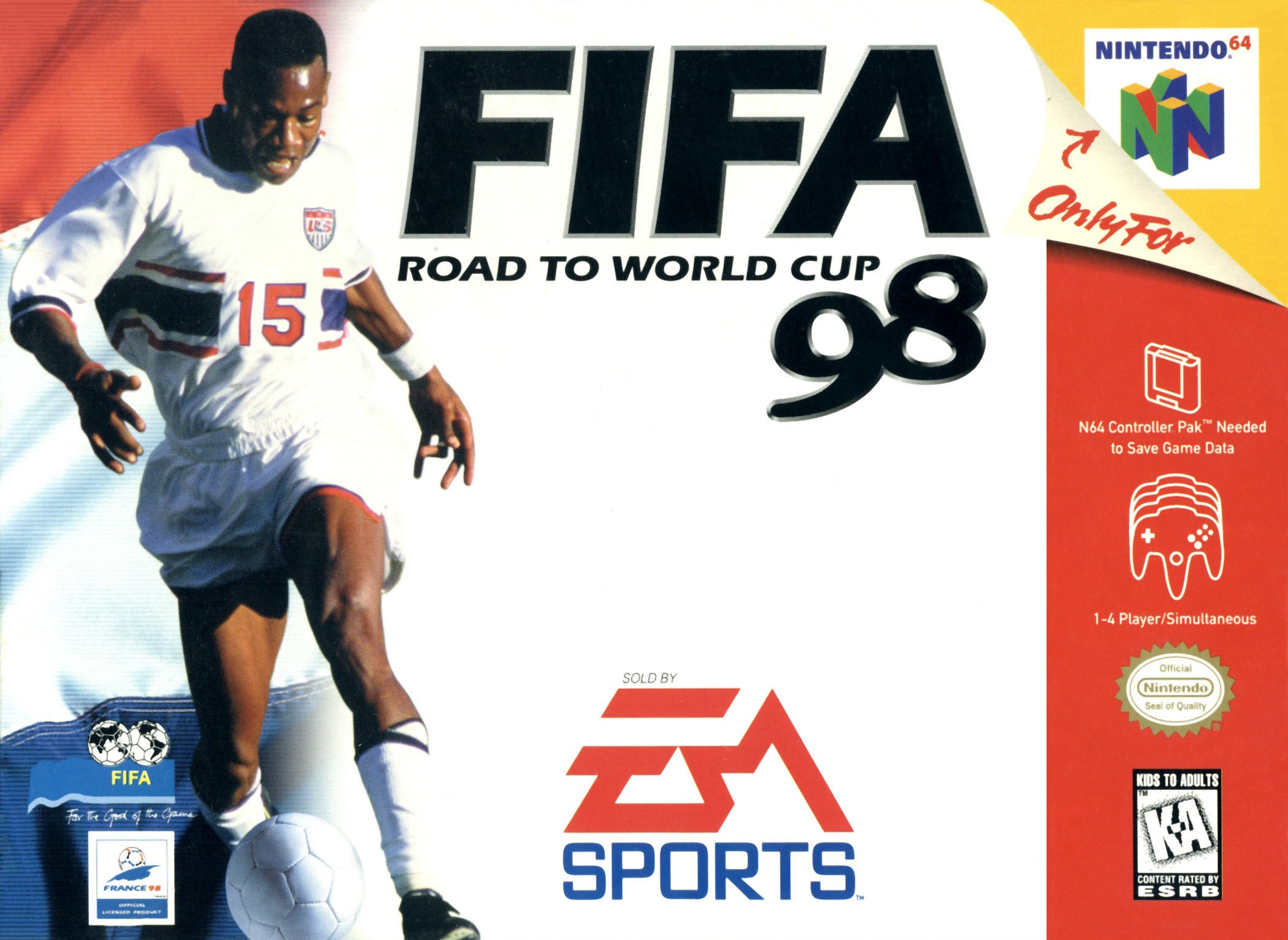 FIFA: Road to Worldcup '98