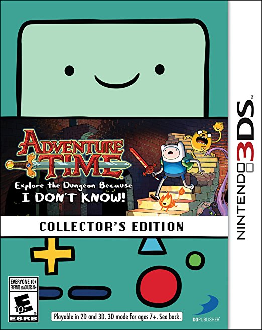 Adventure Time: Explore The Dungeon Because I DON'T KNOW Collector's