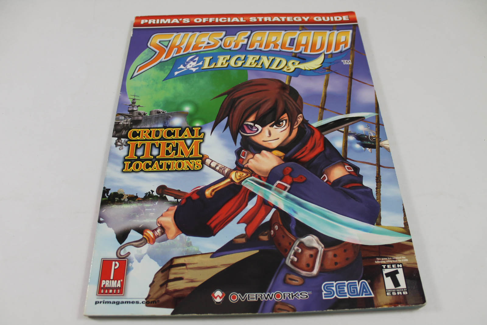 Skies of Arcadia: Legends Official Strategy Guide