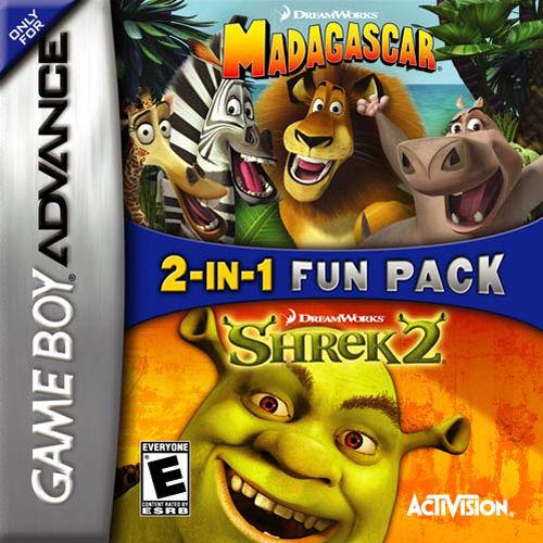 Shrek 2 / Madagascar: 2 in 1 Game Pack