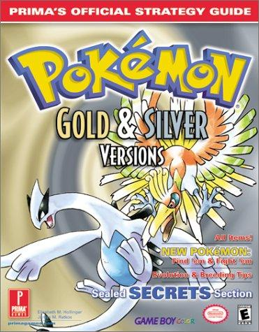 Pokemon Gold & Silver Official Strategy Guide