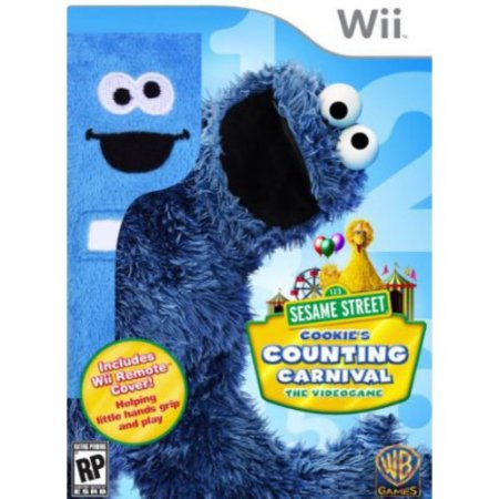 Sesame Street: Cookie's Counting Carnival w/cover