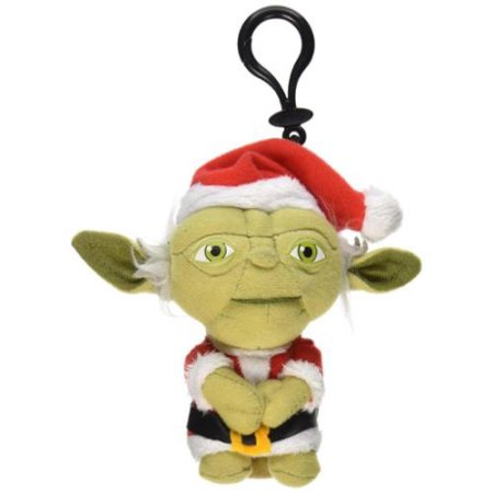 Star Wars Mini Santa Yoda Talking 4