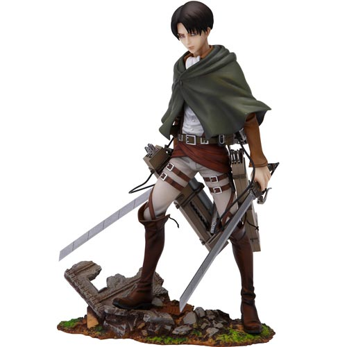 Attack on Titan Levi 8 Inch PVC Figure