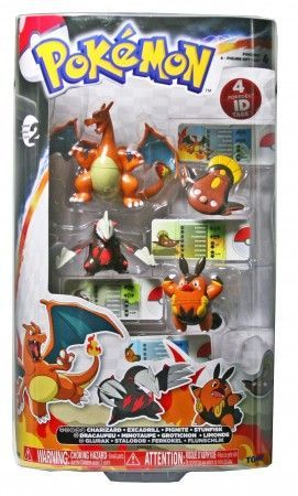 Pokemon 4 Figure Gift Pack-Charizard