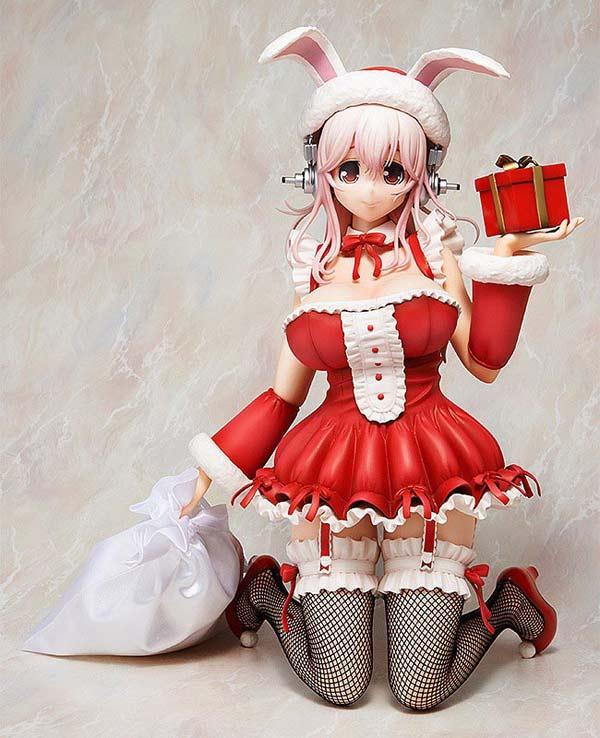 Super Sonico Santa PVC Figure