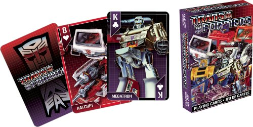 Transformers Playing Cards