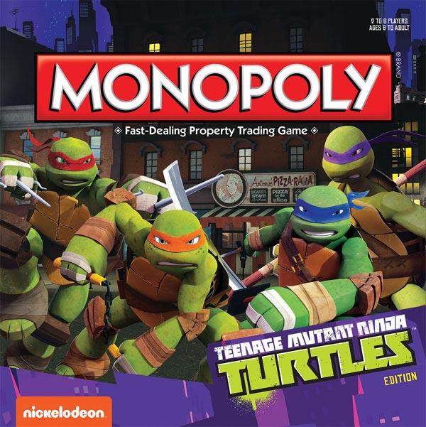 Teenage Mutant Ninja Turtles Monopoly