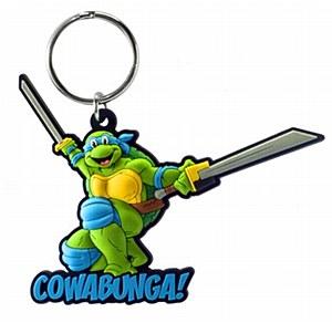 Teenage Mutant Ninja Turtles Leonardo Soft Touch PVC Keychain