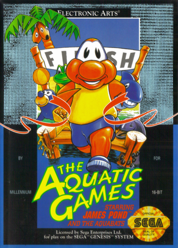 James Pond: Aquatic Games