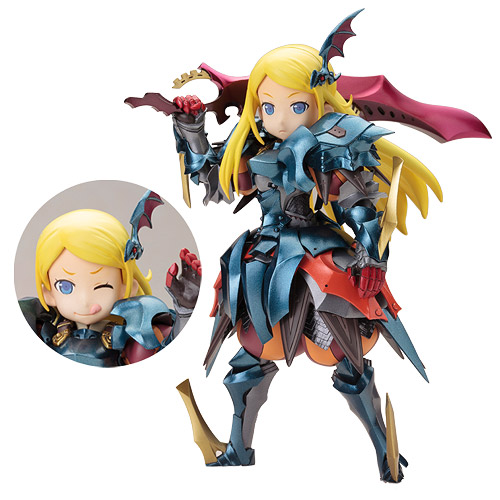 Etrian Odyssey IV Imperial Girl Plastic Model Kit
