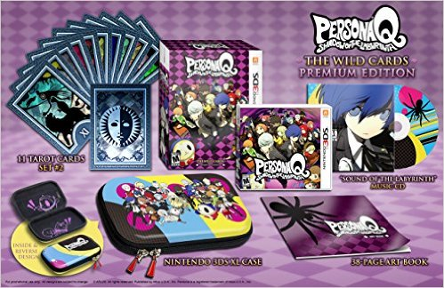 Persona Q: Shadow of the Labyrinth Wild Cards Premium