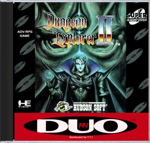 Dungeon Explorer II Super CD-ROM2