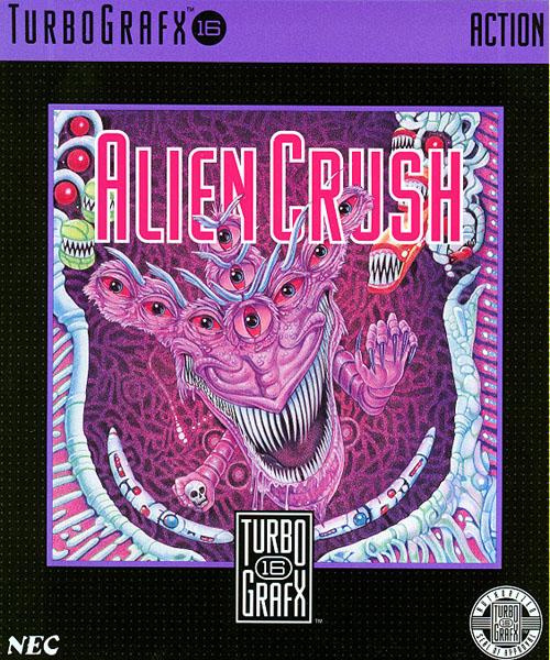 Alien Crush PC Engine