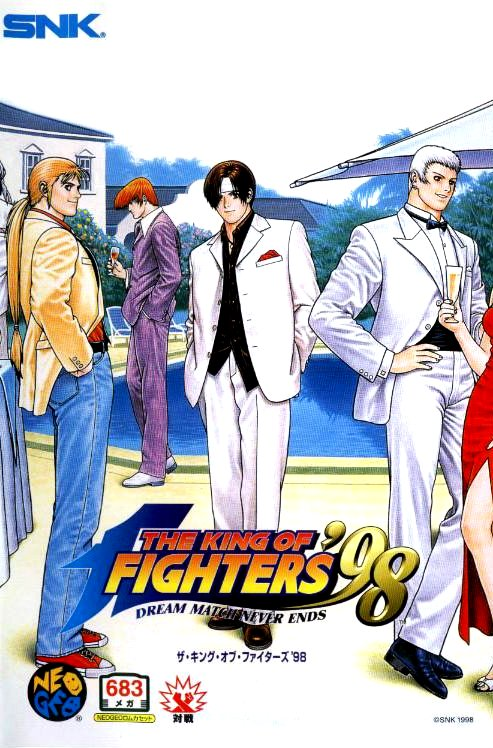 King of Fighters 98 Neo Geo AES