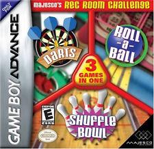 Majesco's Rec Room Challenge: 3 Games in 1