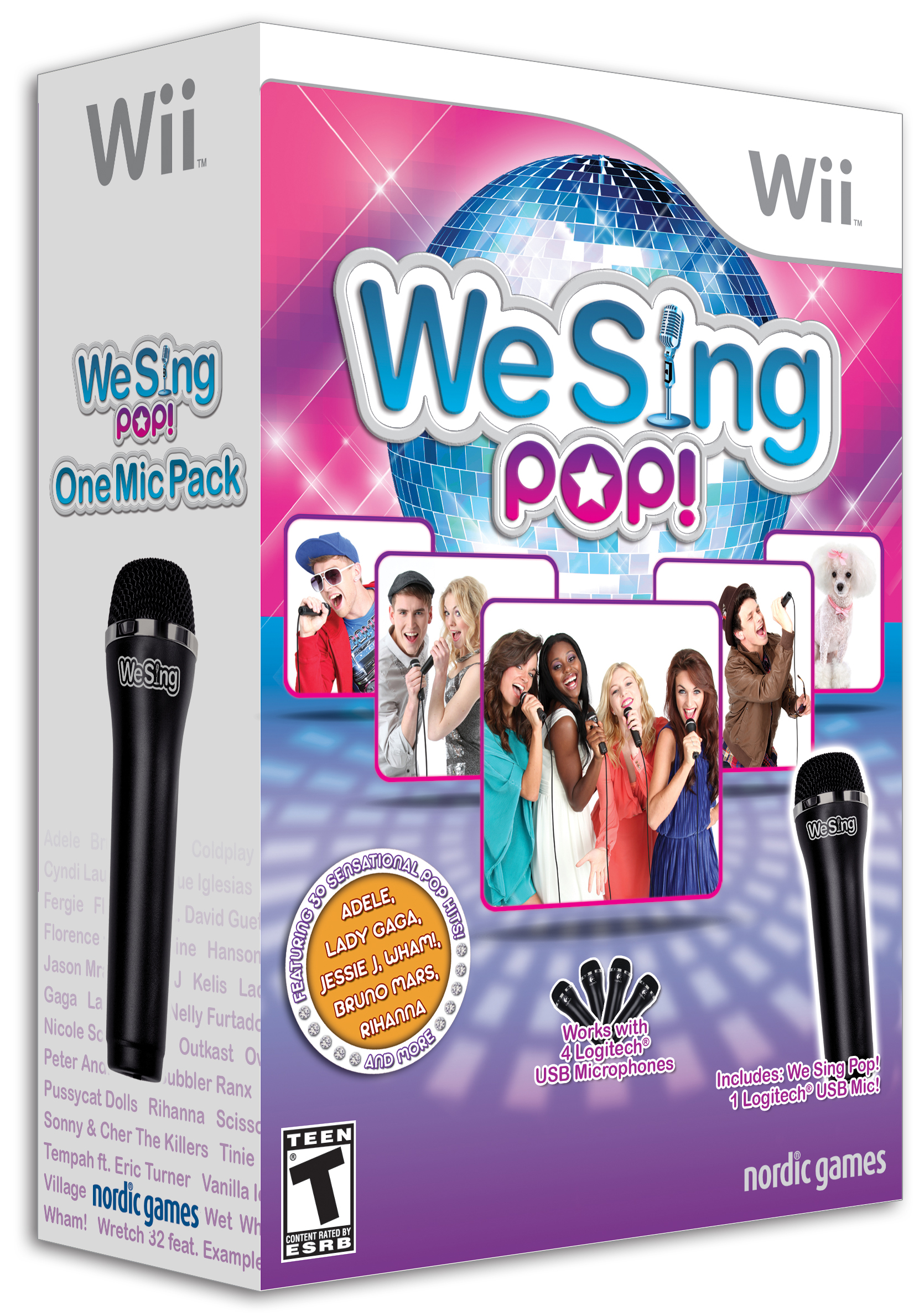 We Sing Pop! with 1 Microphone