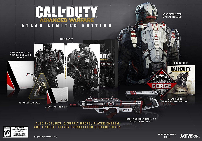 Call of Duty: Advanced Warfare Atlas Limited Edition