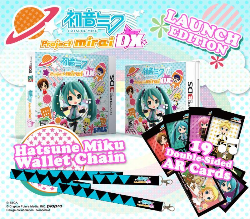 Hatsune Miku: Project Mirai DX Launch Day Edition