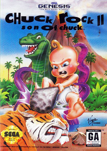 Chuck Rock II: Son of Chuck
