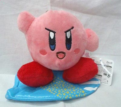 Kirby Summer Adventure Surfing Kirby 6 Inch Plush