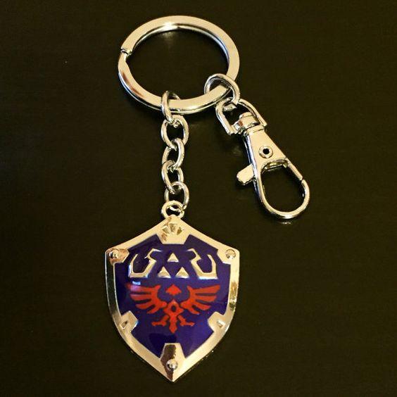 Legend of Zelda: Hylian Shield Keychain