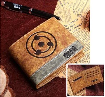 Naruto: Sharingan Icon Tan Wallet