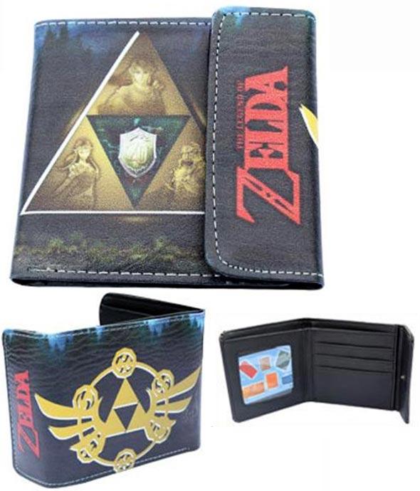 Legend of Zelda: Triforce Dark Green Wallet