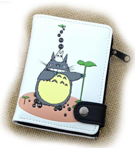My Neighbor Totoro White Wallet