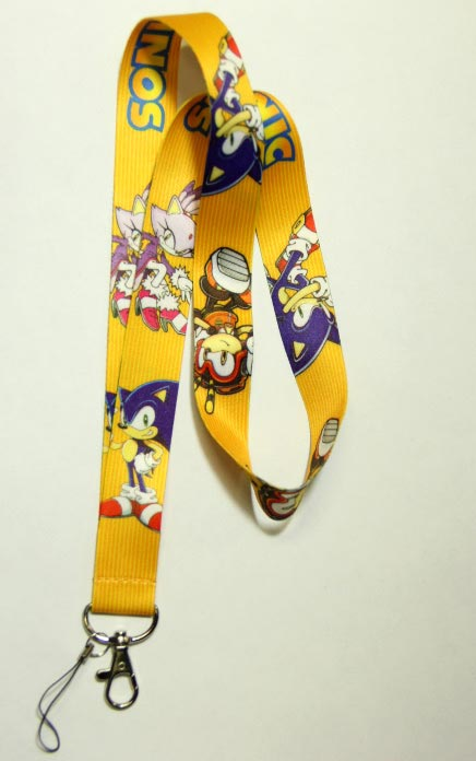 Sonic the Hedgehog: Sonic Charmy and Blaze Lanyard