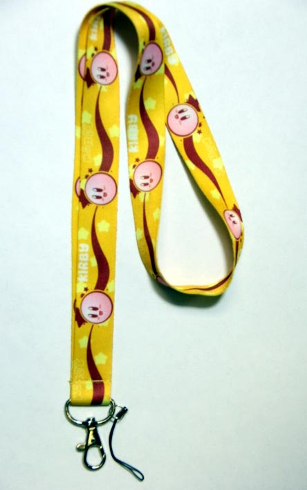 Kirby: Kirby and Stars Lanyard