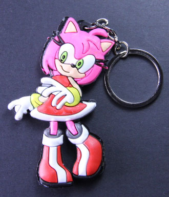 Sonic the Hedgehog: Amy PVC Keychain